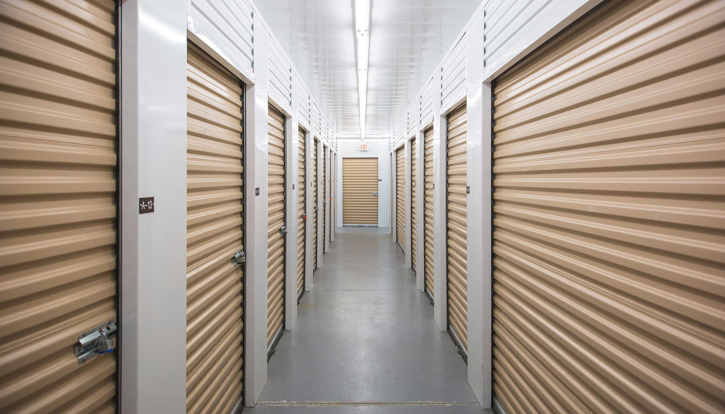 self-storage room