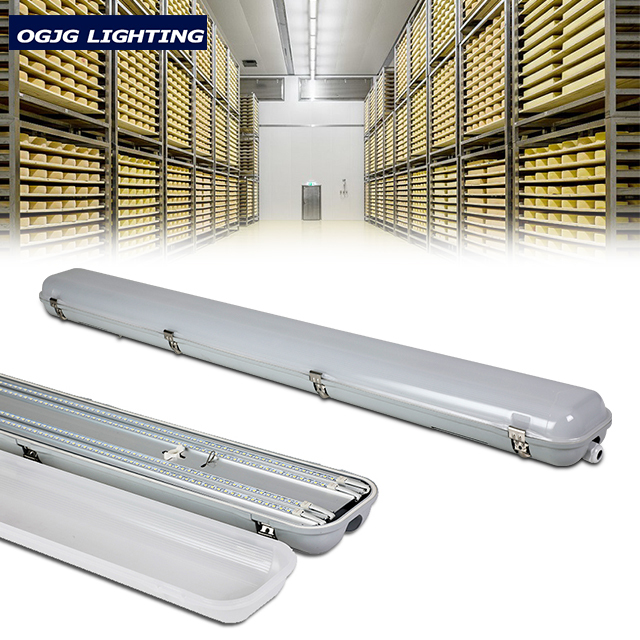 4FT 40W IP66 Dimmable Emergency LED triproof light